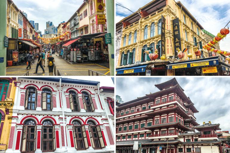 Quartier Chinatown Singapour