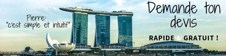Visiter Singapour devis