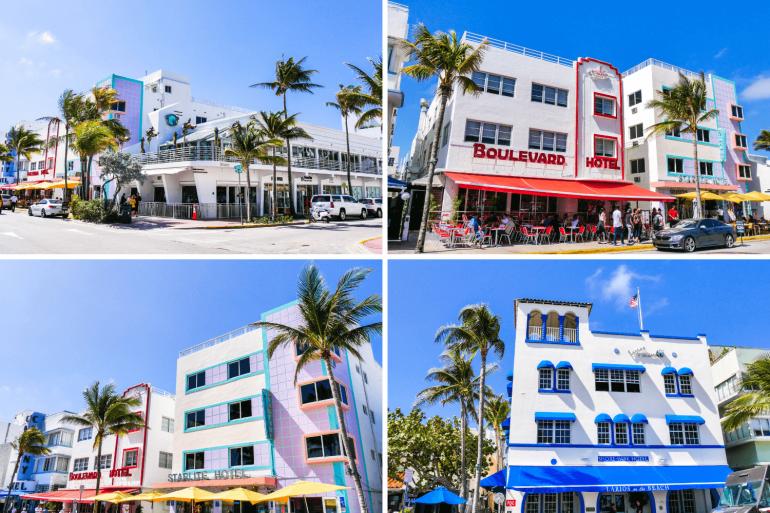Que faire à Miami Beach visiter l'Art Deco