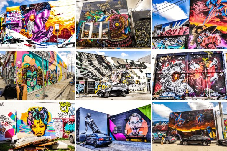 Que faire à Miami, visiter la street art à Wynwood