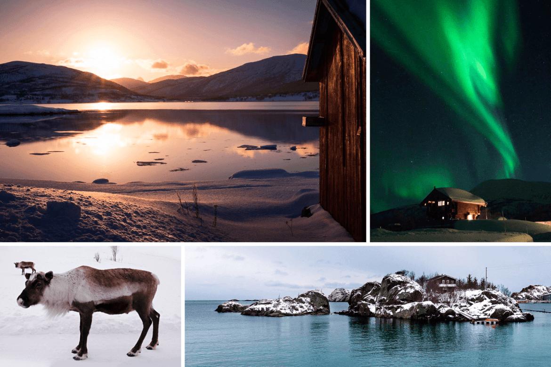 Senja montage ile paradisiaque Norvège