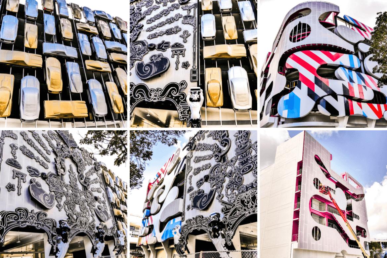 Visiter Miami et les façades du Design District
