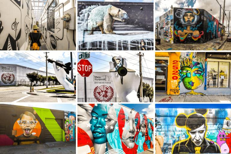Visiter Miami et sa street art à Wynwood