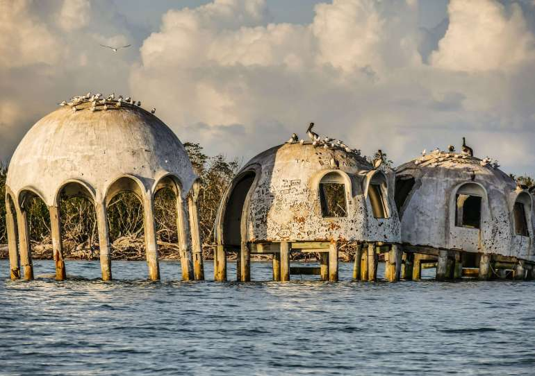 Dome House Cape Romano au Ten Thousand Islands