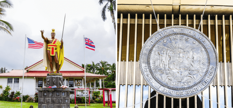 Statue de Kamehameha et l'Histoire d'Hawaii