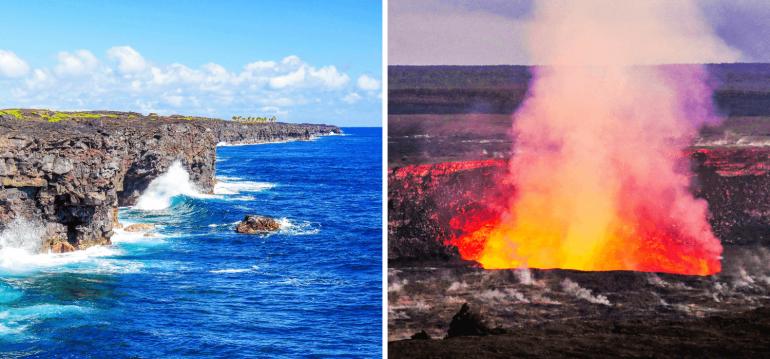 Visiter le Parc national des volcans à Big Island