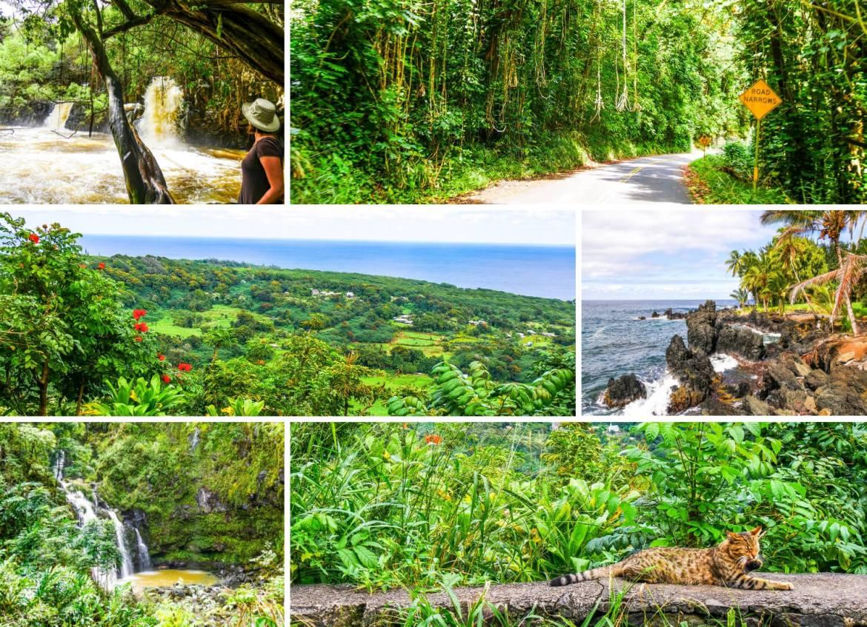 Visiter la Route d'Hana à Maui Hawaii