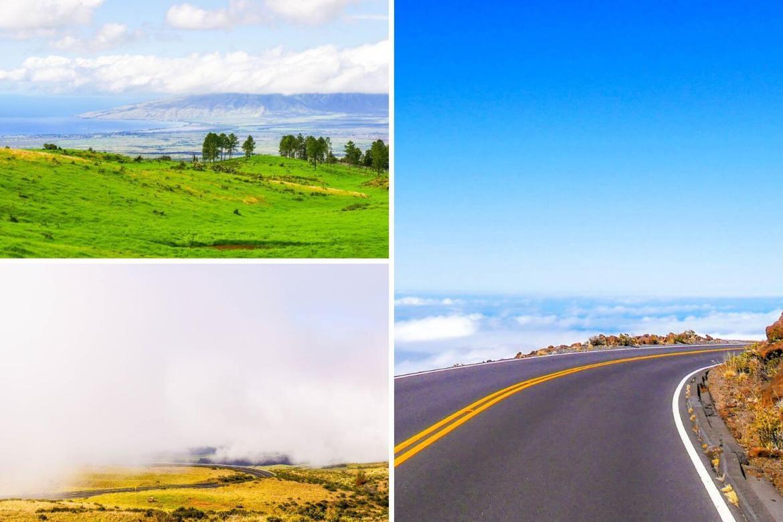Route parc national Haleakala Maui