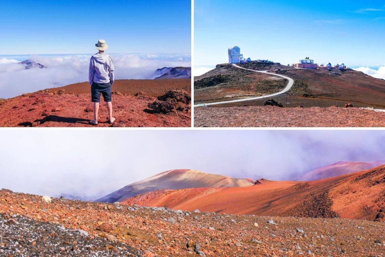 Sommet du Haleakala Maui