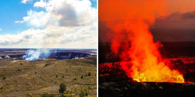 Halema'uma'u Crater Volcano NP