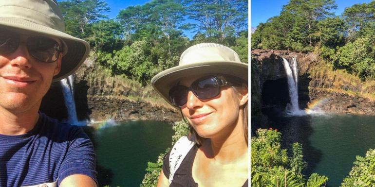 Rainbow Falls Big Island