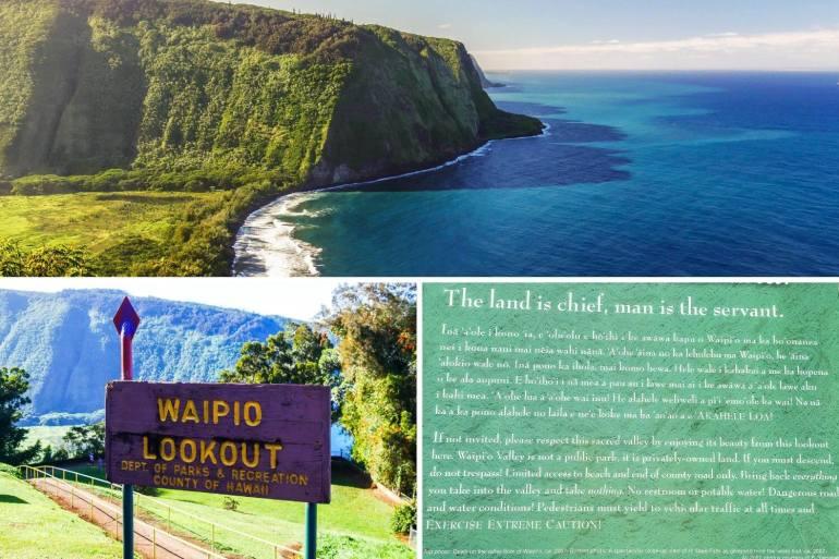 Waipio Valley Lookout Big Island