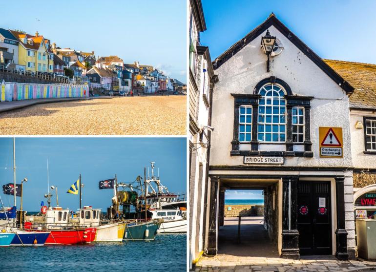 Visiter Lyme Regis Dorset Côte jurassique Angleterre