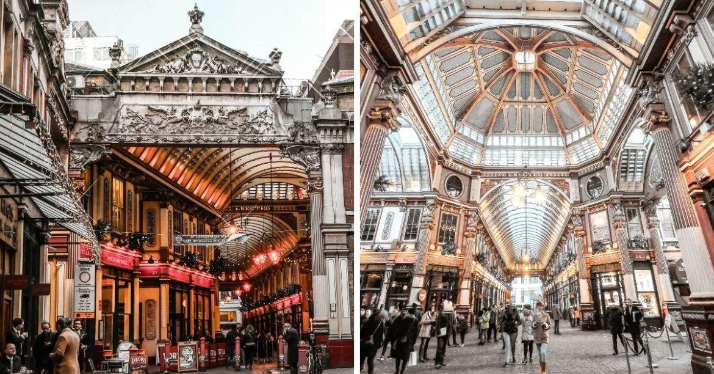 Voir le Leadenhall Market à Londres