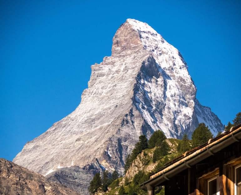 Matterhorn depuis Zermatt