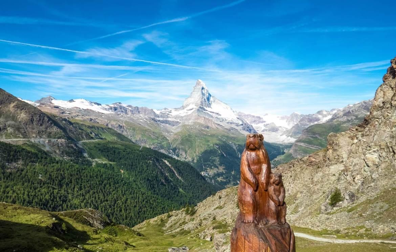 Zermatt Sentier des Marmottes