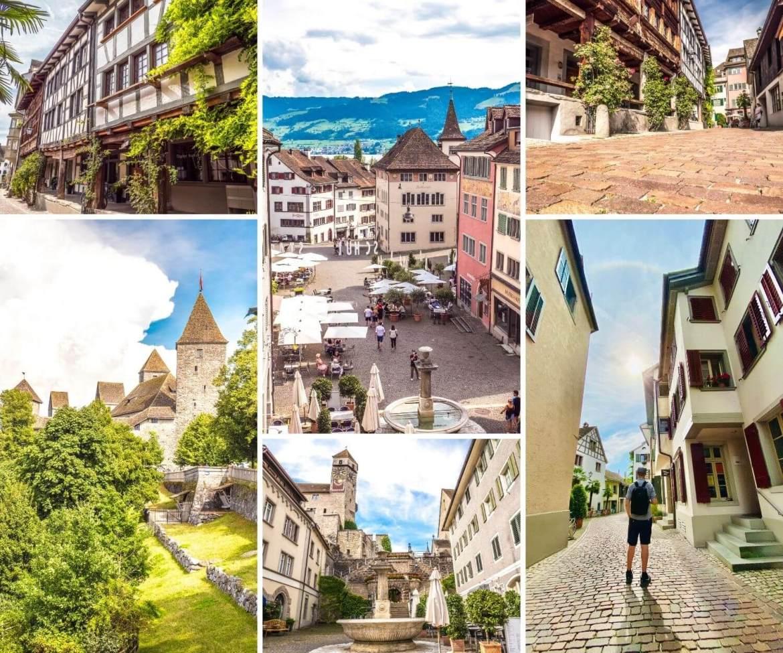 Visiter Rapperswil et ses ruelles