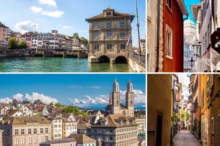 Visiter Rive droite Vieille ville de Zurich