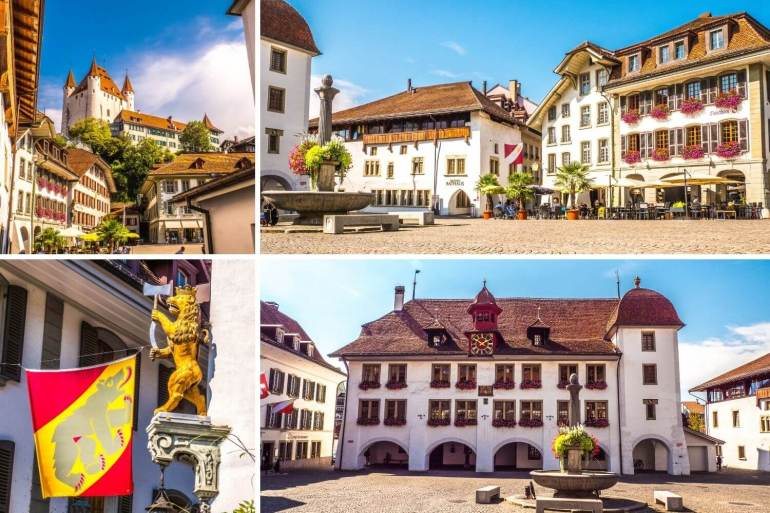Visiter Thoune et sa Rathausplatz