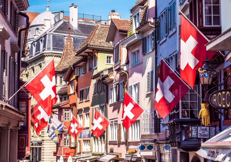 Voir l'Augustinergasse vieille ville Zurich