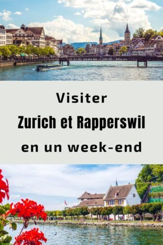 Zurich et Rapperswil week-end