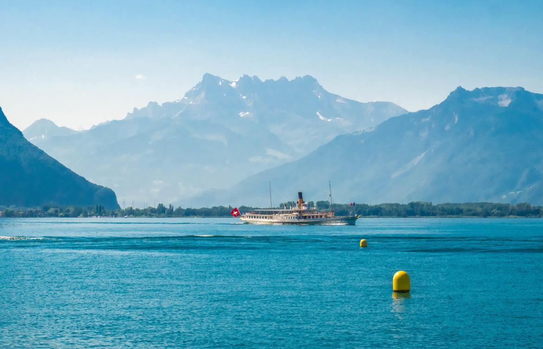 Croisière sur le Léman depuis Montreux