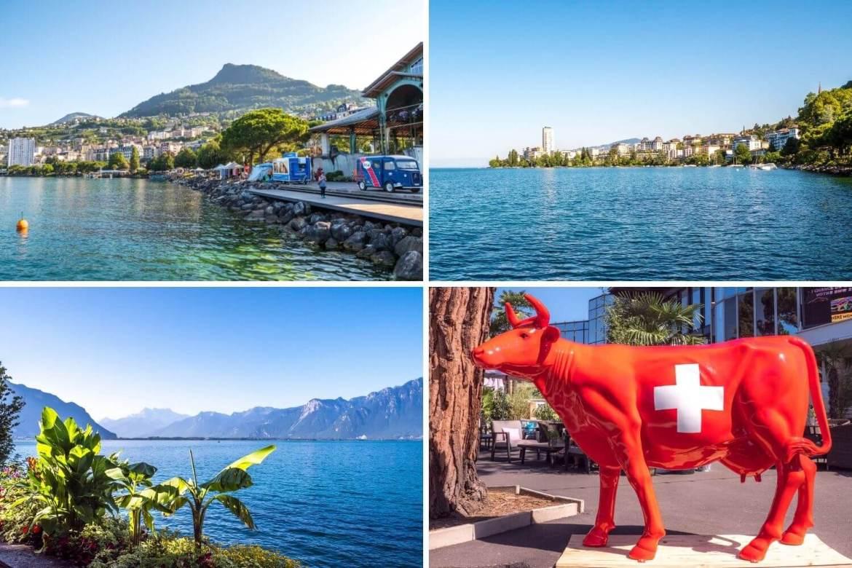Visite de Montreux et balade sur les quais