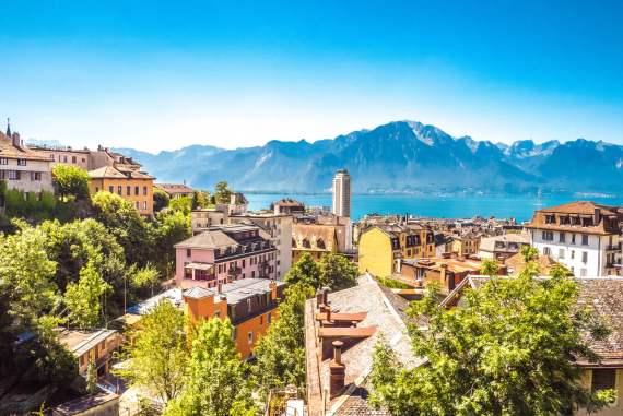 Visiter Montreux et sa vieille ville avec vue