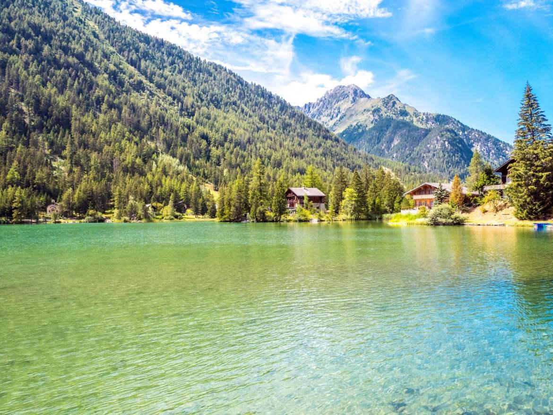 Champex lac Pays du Saint-Bernard Valais Suisse
