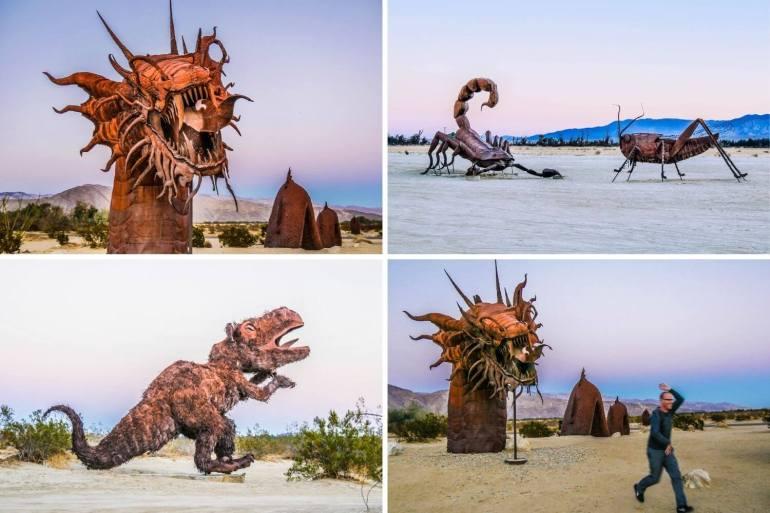 Sculptures Anza Borrego Galleta Meadows