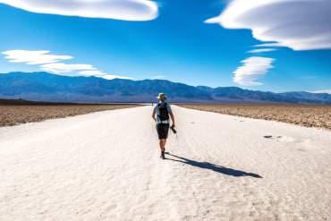 Désert californien Death Valley Badwater