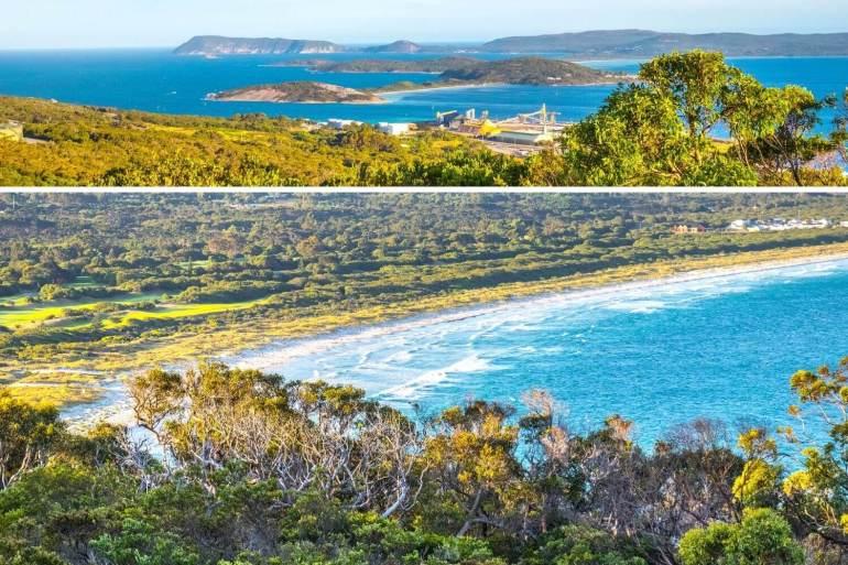 Albany Scenic Drive côte sud ouest Australie