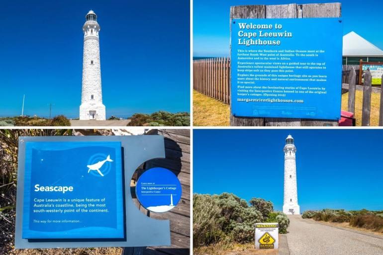 Cape Leeuwin Lighthouse côte sud ouest Australie