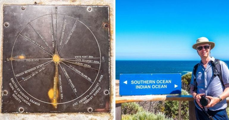 Cape Leeuwin côte sud ouest Australie