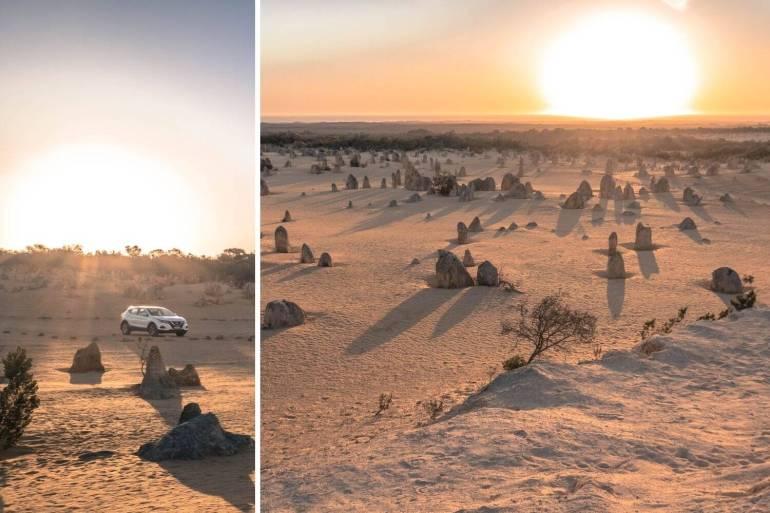 Désert Pinacles côte ouest Australie