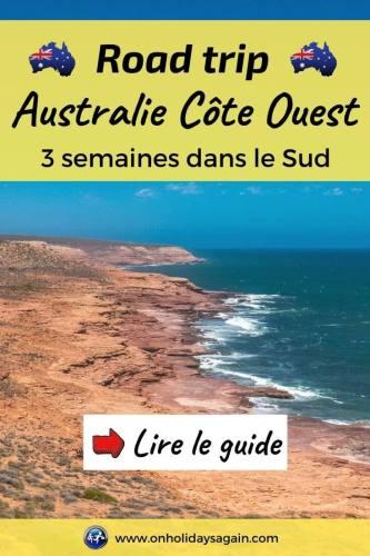Road trip côte ouest Australie lire le guide