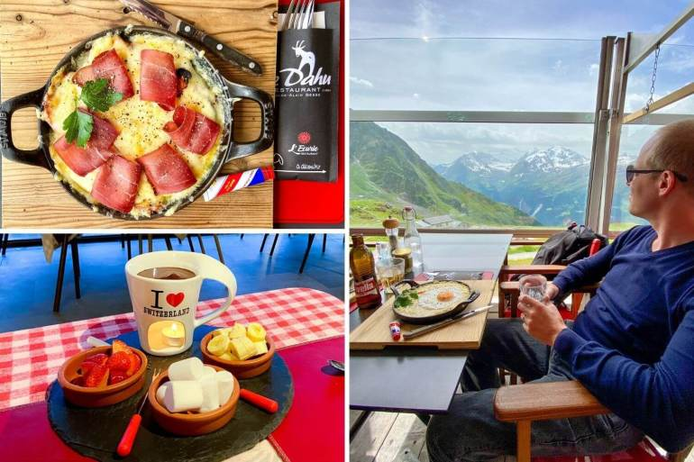Restaurants Verbier week-end romantique Valais