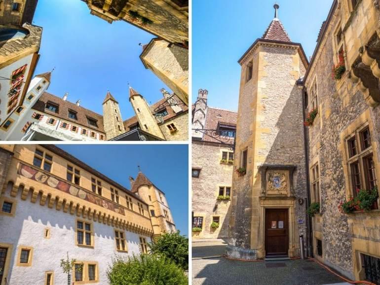 Château à voir à Neuchâtel
