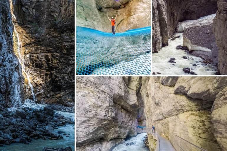 Gorges glacier Grindelwal que faire