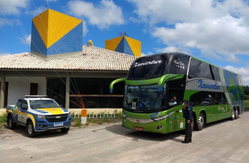 ANTT fiscaliza o transporte rodoviário de passageiros, de cargas e de produtos perigosos no sul da Bahia