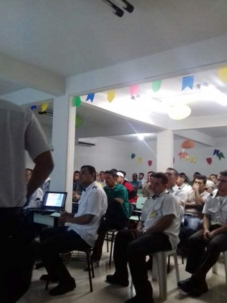 Com decoração junina, Unitrans retoma treinamentos do Operador em Ação