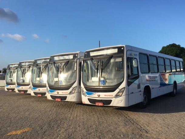 A frota de Cabedelo ganha nesta quinta-feira cinco novos  ônibus