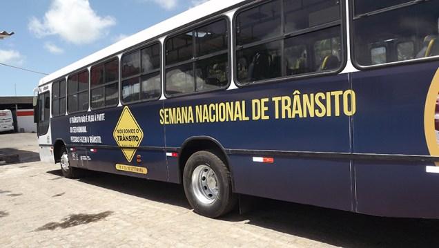 O ônibus do Detran