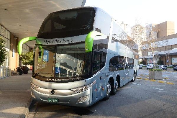 Mercedes-Benz exporta mais de 300 ônibus para o Equador Autos   Motores 8f794ed648312