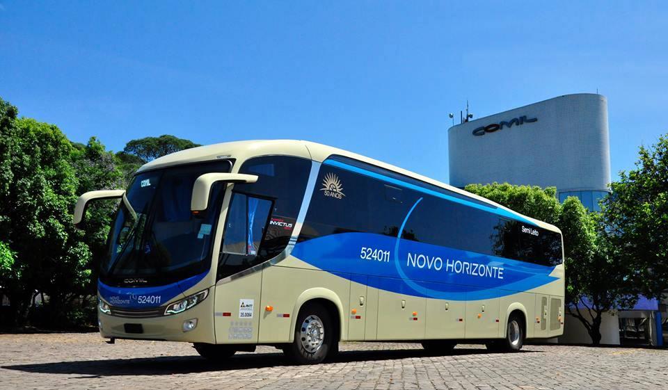 Novo Horizonte adquire mais 8 ônibus junto a Comil