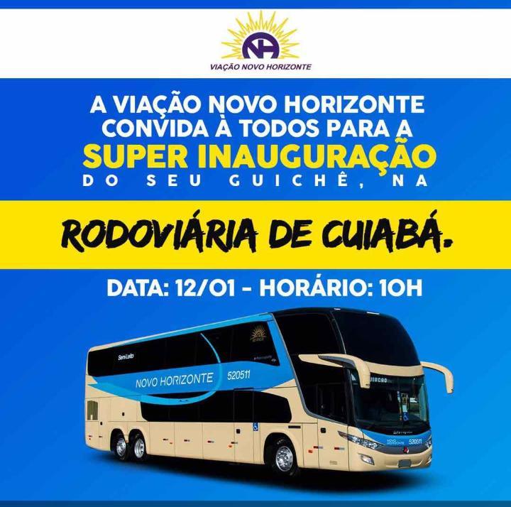 Novo Horizonte com rotas no Mato Grosso