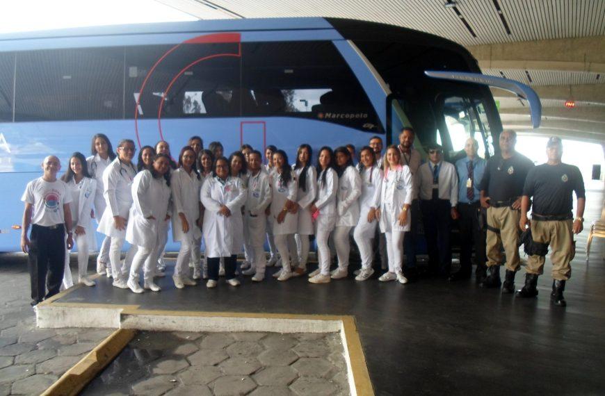 Guanabara, juntamente com o CETEPA e Socicam, realizam campanha na rodoviária de João Pessoa