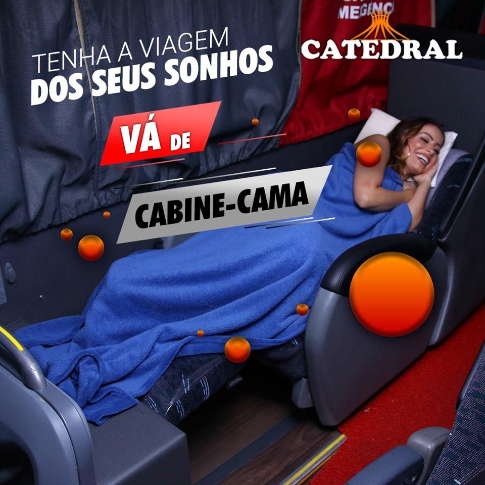 Catedral cabine cama