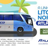 Atlântico Transportes é contratada emergencialmente para operar linhas do Litoral Norte baiano