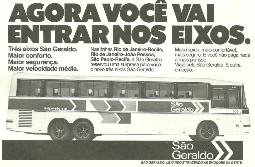 Uma parte da história contada em fotos: Os três eixos da São Geraldo na Paraíba